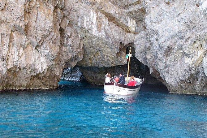 Amazing Capri Boat Tour and Anacapri from Sorrento