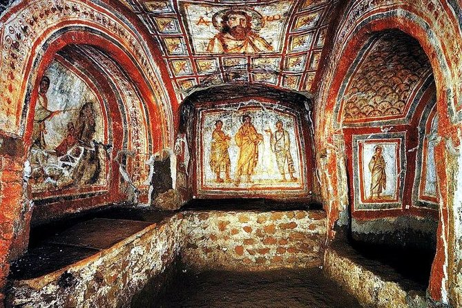 Guided tour of the Catacombs (covid free)
