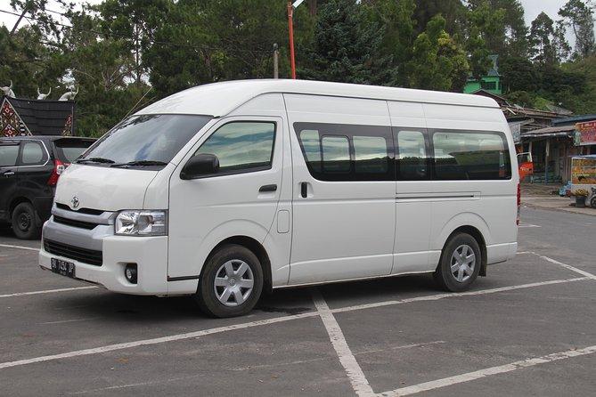 Private car transfer from Medan airport to Bukit lawang