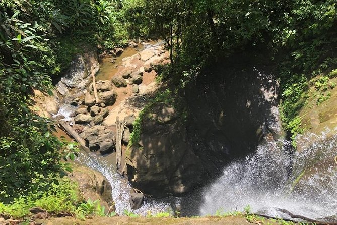 Exploring hidden waterfalls in Bribri