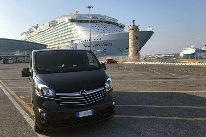 Private transfer from Civitavecchia Port to Rome City