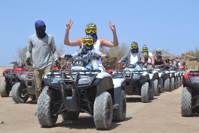 Super Safari Full day Quad Bike & Jeep with Camel ride - Hurghada