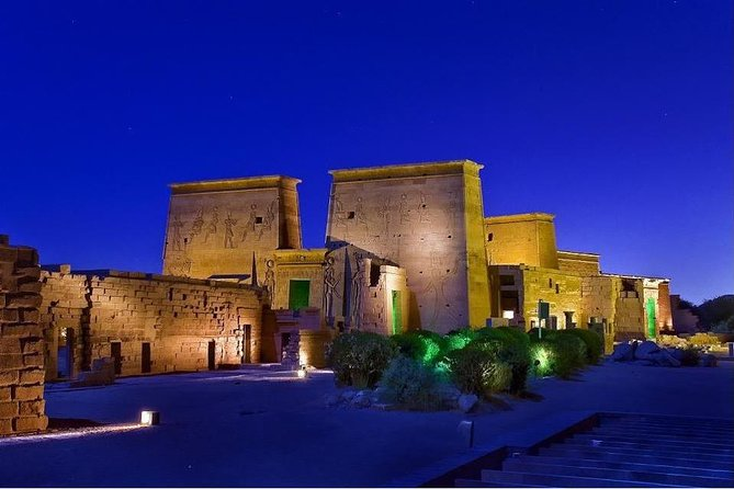 Amazing Sound and Light Show at Philae Temple From Aswan