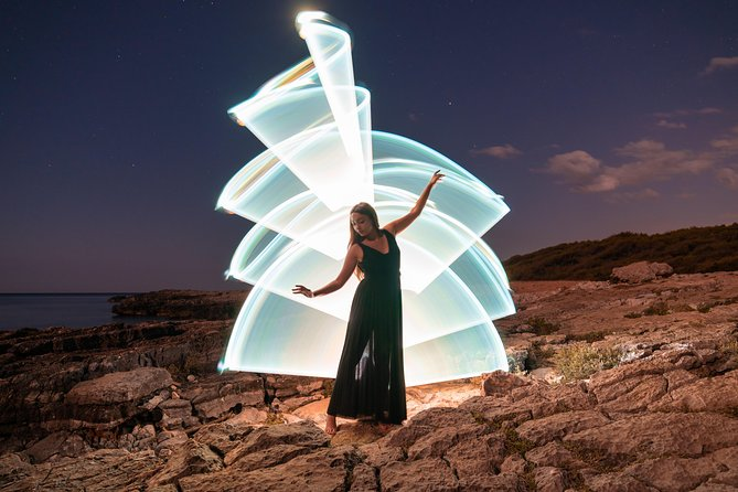 Light Painting in Salento: Let's create unique photos with light!