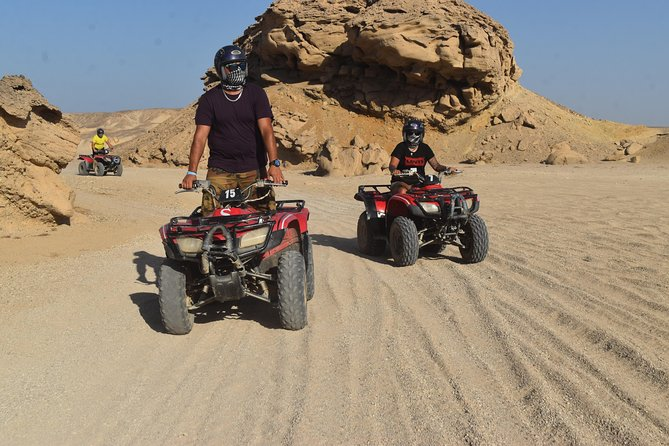 Amazing 3 Hours Sunrise Safari by Quad Bike & Camel Ride - Sharm El Sheikh