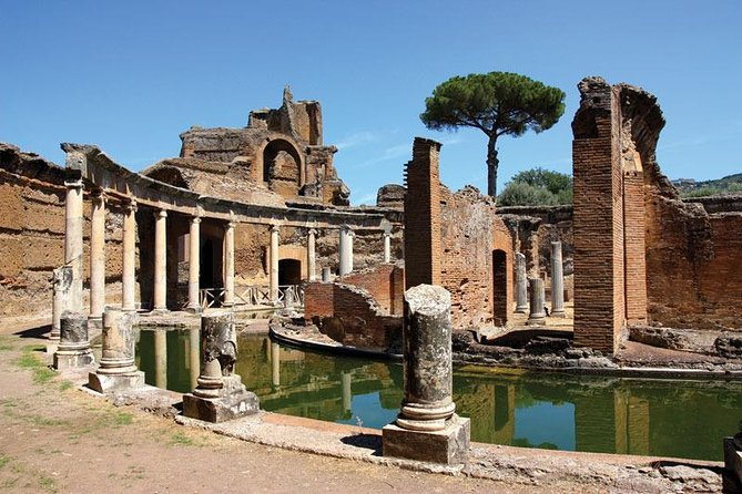 Civitavecchia cruise excursion day tour :Tivoli - Hadrian's Villa -Villa d'Este