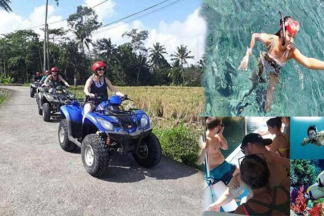 Combination Day Tour ATV Quad Biking With Blue Lagoon Beach Snorkeling