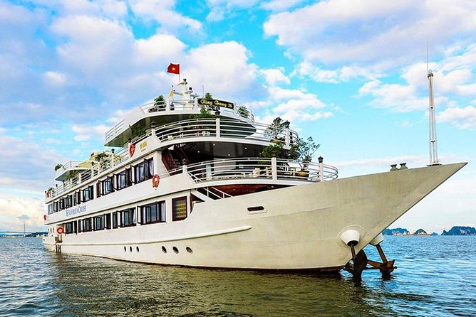 Silversea Ha Long Bay Cruise + Catba Sandy Beach (3 Days 2 Nights Tour)