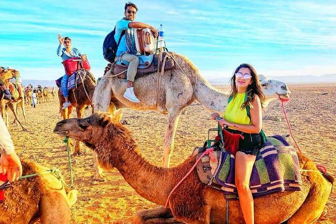 Desert Agafay and Atlas Mountains & Villages & Camel Ride Marrakech Day Trip