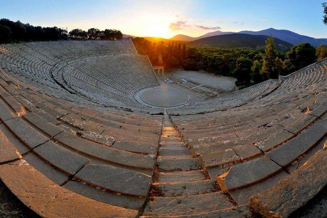 Exporing Argolis: Full-Day Tour in Mycenae, Epidaurus & Nafplio
