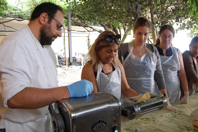 A private cooking class at the Fishermen's Island, on lake Maggiore
