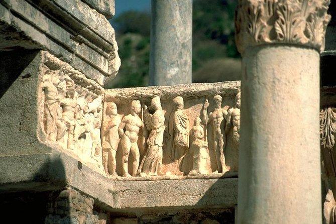 Day Trip from Kusadasi Port to Ephesus Sirince Village St.Mary's House Artemis