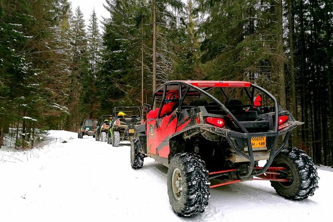 4X4 OFF ROAD, adventure, wild Romania and old villages all in one day trip