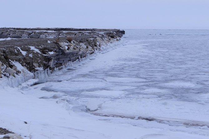 Ice of lake Baikal