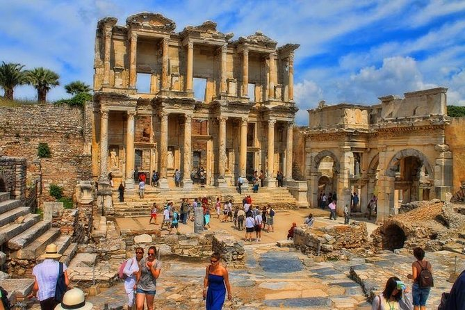 Day Trip from Kusadasi Port to Ephesus, St.Mary's House, and Turkish Breakfast