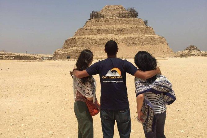 Day tour to Giza pyramids Memphis city dahshur and saqqara pyramids