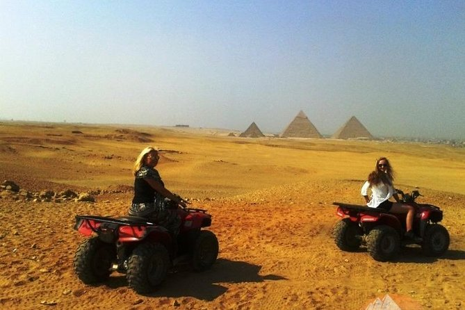 Quad Bike Ride Around The Great Pyramids & Sphinx