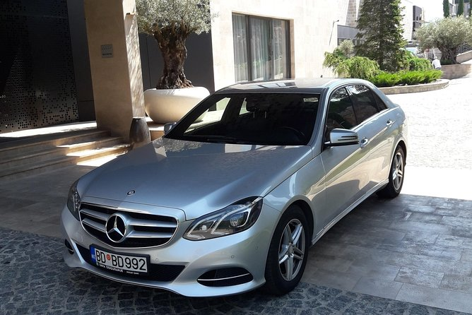Private Transfer from Tivat airport to Tivat city or Porto Montenegro
