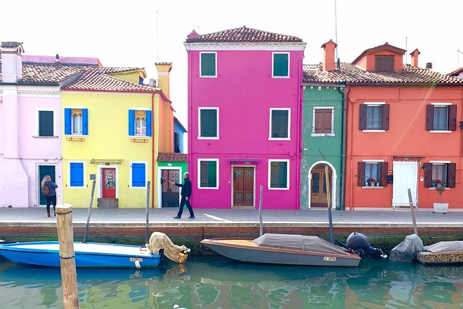 Grand Canal Boat Private Tour: Murano and Burano 4 hrs