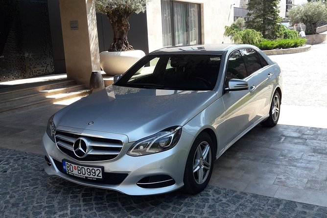 Private Transfer from Budva or Becici to Tivat airport
