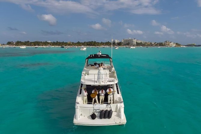 Playa Mujeres rent a Yacht 6hrs with Food and drinks aboard (MagicSea-P4) photo 21