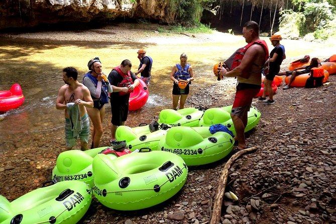Cave Tubing and Zip Line Adventure Shore Excursion Tour Belize