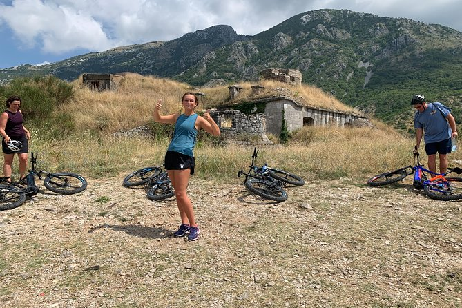 The Amazing Austro-Hungarian Fortresses of Lustica Tour, on Giant e-bikes.