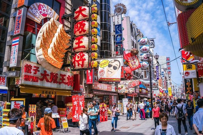 Osaka Off the Beaten Path Full-Day Private Tour with Nationally-Licensed Guide