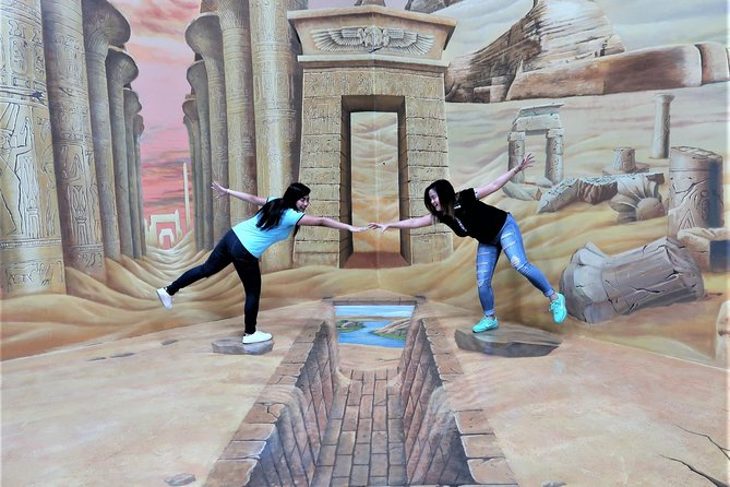 3D World Dubai, Trick-Art Selfie Museum