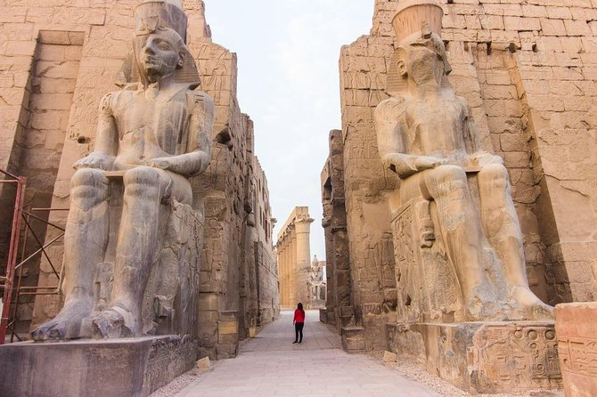 2 Days Private Luxor Tour from Cairo by Plane with Hotel