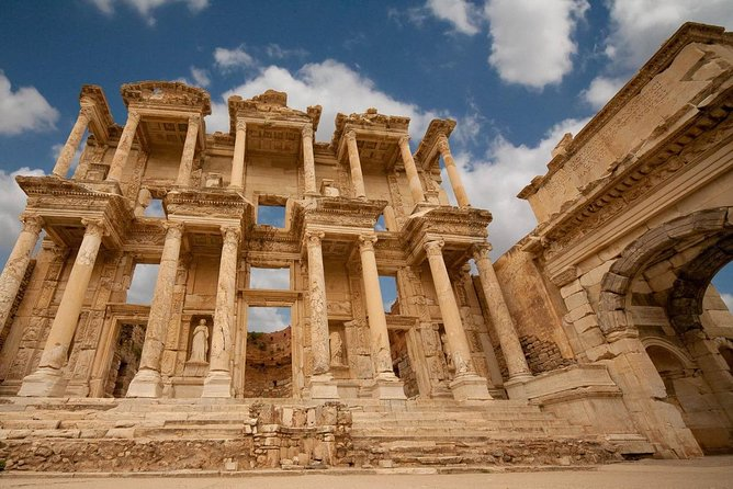 Shared Tour from Kusadasi Port to Ephesus, St.Mary's House, Artemis, with Lunch