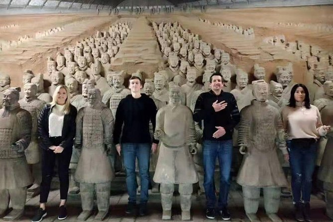 Xian SIC day tour to Museum of Terra-Cotta Warriors Banpo Neolithic Village