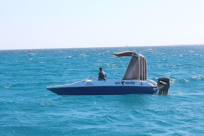 Orange Bay Island By Private Speedboat & snorkeling & Water Sport - Hurghada