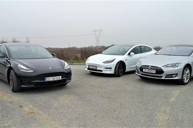 Tesla Airport transfer Zagreb - Split