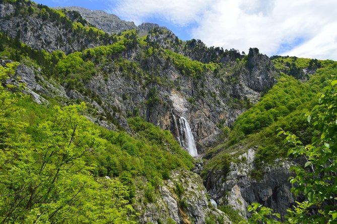 Selca waterfall tour from Tirana