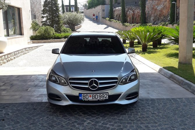 Private Transfer from Tivat airport to Petrovac