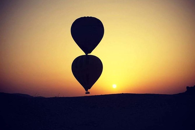 Full Day Luxor Tour with Hot Air Balloon Ride w/Guide Lunch