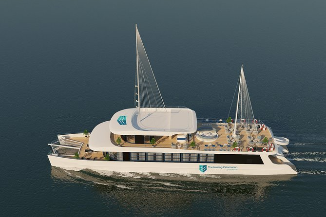 The Catamaran-Luxury Day Cruise in Halong Bay-Lan Ha Bay (Tour from Ha Long Bay)
