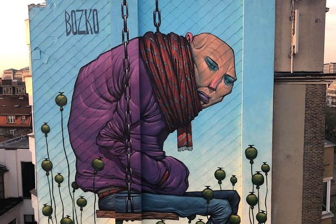 Street Art Tour Brussels - private tour - 2h30