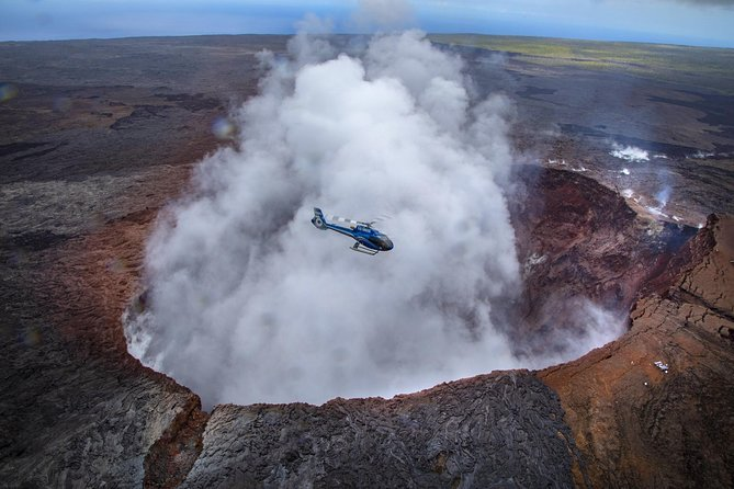 Oahu to Big Island : Big Island Volcano Helicopter Tour & Hilo 1 Day Tour