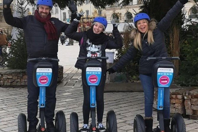 Guided tour of Nancy in Heart of City Segway 1H