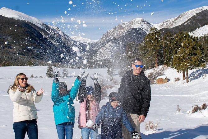 Rocky Mountain National Park Tour - Hidden Valley Sledding Tour