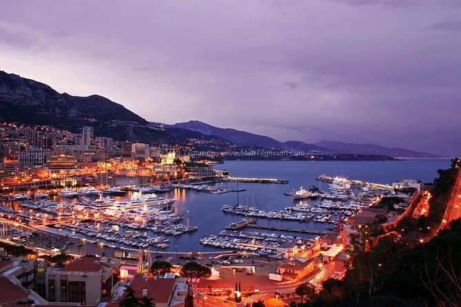 Eze , Monaco & Monte-Carlo Day and Night from Nice.
