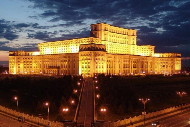 Bucharest panoramic and walking tour - nightly