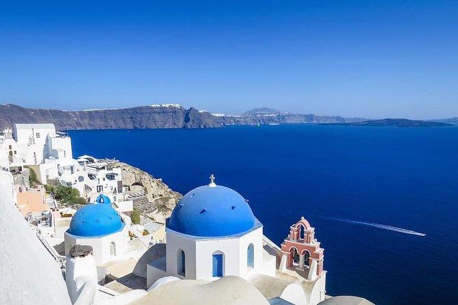 5 Day Tour in Delphi, Meteora, Mykonos, Santorini, Cruise to Delos, & Oia sunset