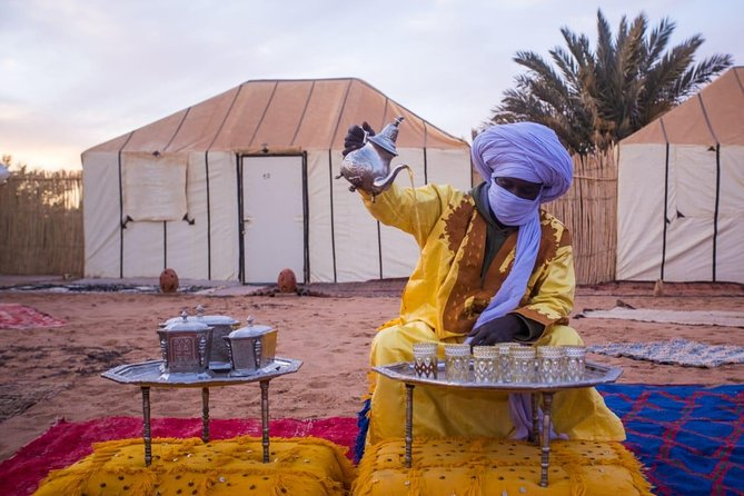 Private Luxury 3 Days 2 Nights Desert Trip to Marrakech from Fes