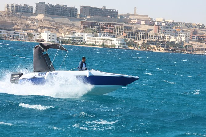 4 Hours Speed Boat Private Snorkeling With Dolphins Trip & Water Sports-hurghada