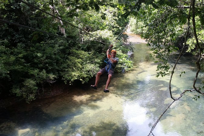 Zip-line and Altun Ha Mayan site Tours from Belize City