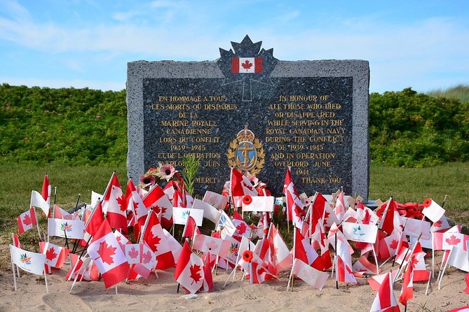 Canadian Landing Beaches Discovery from Paris