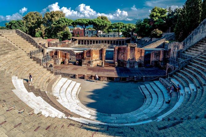 Pompeii, Herculaneum & Vesuvius - Shared Deluxe Tour